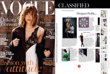 BRITISH VOGUE - VOGUE UK 2016 / LYY - LUCKYNELLY - Designer Profile in VOGUE UK 2016 issue!!!!! We are soooooo proud!!!!  VEGAN FASHION IS ON THE RUN!!!! For a better world...