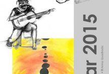 """2015 Calendars / El calendari 2015 d'ArtandGo és una recull de pintures de les col.leccion """"Figura Humana"""" i """"Fusió d'Estils""""."""