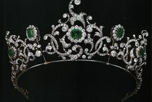 Tiary angielskie - Devonshire emerald tiara
