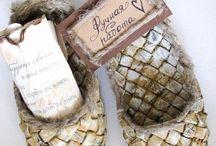 Башмаки бутылочницы хлебницы