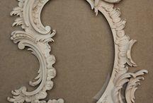 CARVED MIRROR FRAMES / РЕЗНЫЕ РАМЫ ДЛЯ ЗЕРКАЛ / Carved frames for mirrors. Резные рамы для зеркал из дерева.