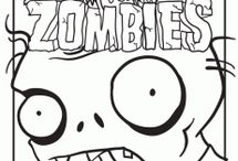 PLANTS VS ZOMBIES COLORING FREE