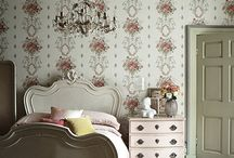 Wallpaper! Cherry's Favourite Wonderful Wallpapers / If you love walls to be adorned by fabulous patterns and designs then this board is full of inspiration and ideas.