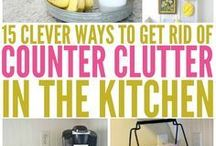 How to get Kitchen clutter under control