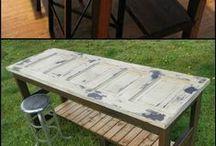 Τραπέζια από μπατζουρια