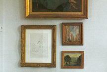 Vintage Gallery Wall Worthy