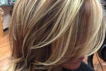 Hair styles and color ideas for clients