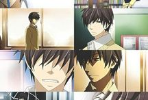 Sekaiichi Hatsukoi & Junjou Romantica / I love it.  No other words needed