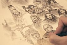 Pencil sketch&more