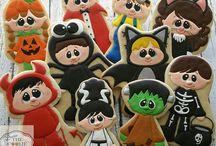 galletas niños disfrazados