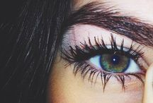 eyebrow/makeup/eyes