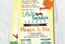 Celebrate // Lawn and Garden Shower