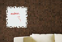 Stickers Ardoises Veleda / Une nouvelle collection de stickers pour recouvrir vos ardoises veleda en un éclair et les rendre plus belles. A découvrir sur Dezign.fr