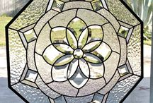 Stained glass Octagons / Octagon shaped stained glass windows