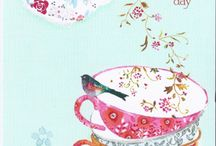 Tea Pics/Sayings from All Over / Tea Illustrations and sayings that warm your heart and make you want to share! / by TeaPots n Treasures