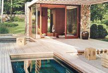 Pool / Überdächer