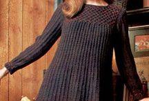 Vintage knitting & crochet