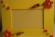 My Work - Photo Frames / Handmade Photo frames