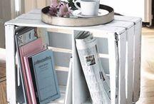 Van rommel naar design item / Soms levert snuffelen op zolder of in de schuur bij manlief de leukste dingen op om je interieur mee op te leuken.