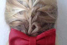 Happy hair / kunstige knutsels en fancy frutsels