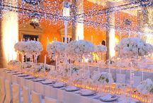 Inspiración de Noche / Ilumina Tu Boda durante la noche y utilizala como parte de tu decoración y adornos.