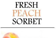 icecream and sorbet