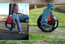 monocycle électrique, gyropode et autres self-balancing vehicule / Le gyropode monocycle électrique: un transporteur personnel de haute technologie se décline sous de multiples forme et se met enfin à la portée de tous