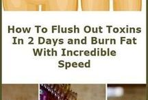 flush out toxins