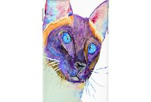 Malika Pet Art - phone cases