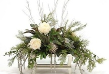 Christmas centrepieces/ Christmas tablecentres / Centerpieces for the festive holiday  season