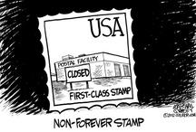 Postal Cartoons / Cartoons with a postal twist