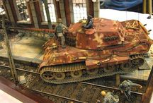 German Tanks Diorama
