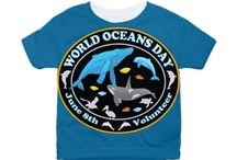 Whales Dolphins World Oceans Day T-Shirts / My Whale and Dolphin, World Ocean's Day designs on T-Shirts, cases, bags and tons more.  See my Graphic Art Animals for more Whale designs too. http://www.cafepress.com/profile/thetshirtpainter  --search Whales / by The Tshirt Painter