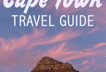 Cape Town Travel Tips / Travel tips, inspirations and travel guides for exploring Cape Town and more of South Africa!