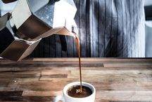 утро кофе