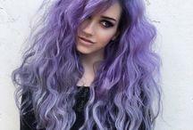 purple haircolor
