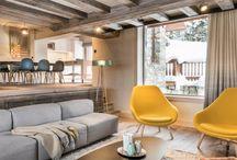 Chalet contemporain à Méribel / Rénovation d'un chalet à Méribel, Savoie