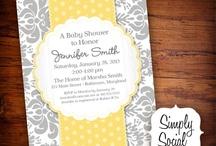 Grey & Yellow Baby Shower