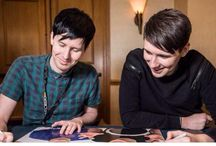 dan and phil being adorable
