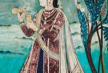indian miniatures and art