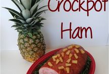 Crockpot Ham / Dinner