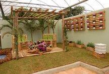 decorar jardim