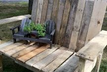 Garden Benches / Garden benches offer not only a decorative flare but also a place to sit and relax, talk, read a book or entertain. Here's a fun collection of garden benches to inspire and some... even make yourself... which one do you like? / by Plant Care Today