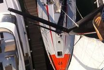 Yacht Maintenance / Keeping a sailing yacht in tip top condition.