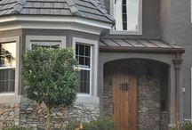 Exterior home / curb appeal / by Gina Manygoats