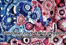 Scrumbling o Freeform o crochet libre