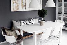 Farger/vegg i stua