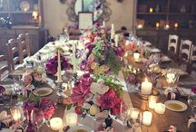 Table settings. / by Sandra Bennett