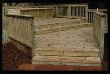 Deck Tallahassee / These beautiful decks that we have built all over Tallahassee are only some of the amazing examples of Dickerson Landscaping's deck design.