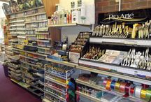 Crafts & Hobbies Old Shop / Inside Craft & Hobbies first shop in 2013, we have since moved to larger premises in the high street.